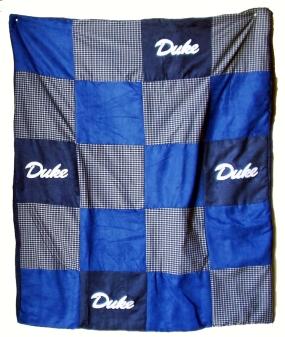 Duke Blue Devils Quilt