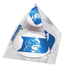 Duke Blue Devils Crystal Pyramid