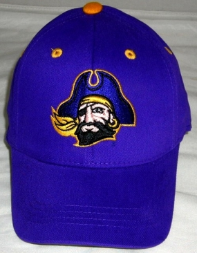 East Carolina Pirates Youth Team Color One Fit Hat
