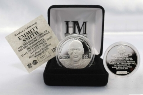 Emmitt Smith 2010 HOF Induction Silver Coin