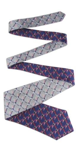 New England Patriots Home and Away Reversible Tie