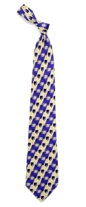 Baltimore Ravens Pattern Tie