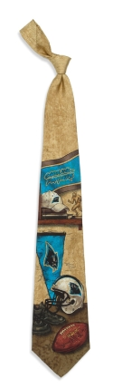 Carolina Panthers Nostalgia Tie