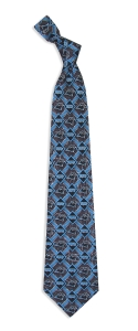 Carolina Panthers Pattern Tie