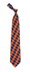 Chicago Bears Pattern Tie