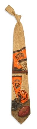 Cincinnati Bengals Nostalgia Tie