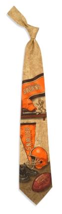 Cleveland Browns Nostalgia Tie