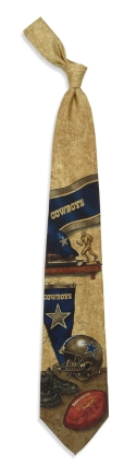 Dallas Cowboys Nostalgia Tie