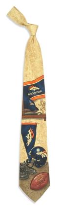 Denver Broncos Nostalgia Tie