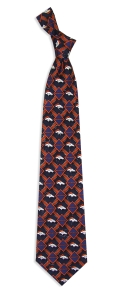 Denver Broncos Pattern Tie