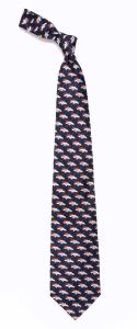 Denver Broncos Woven Tie
