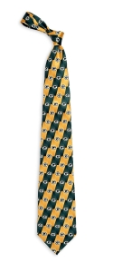 Green Bay Packers Pattern Tie