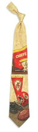 Kansas City Chiefs Nostalgia Tie