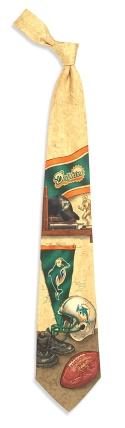 Miami Dolphins Nostalgia Tie