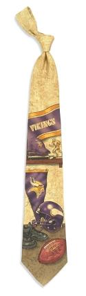Minnesota Vikings Nostalgia Tie