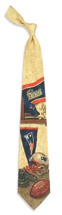 New England Patriots Nostalgia Tie