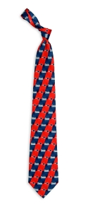 New England Patriots Pattern Tie