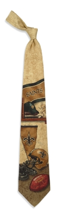 New Orleans Saints Nostalgia Tie