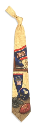 New York Giants Nostalgia Tie