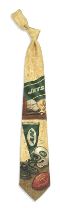New York Jets Nostalgia Tie