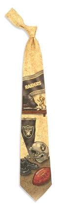 Oakland Raiders Nostalgia Tie