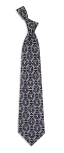 Oakland Raiders Pattern Tie