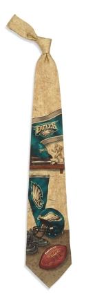 Philadelphia Eagles Nostalgia Tie