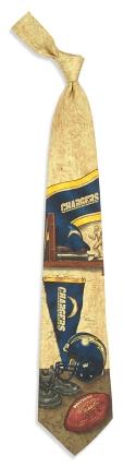 San Diego Chargers Nostalgia Tie
