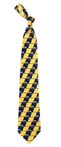 San Diego Chargers Pattern Tie