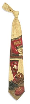 San Francisco 49ers Nostalgia Tie