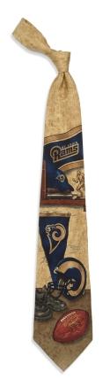 Saint Louis Rams Nostalgia Tie