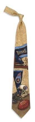 Tennessee Titans Nostalgia Tie
