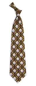 Pittsburgh Steelers Pattern Tie