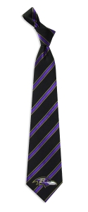 Baltimore Ravens Woven Polyester Tie
