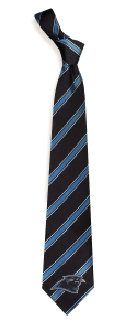Carolina Panthers Woven Polyester Tie