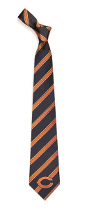Chicago Bears Woven Polyester Tie