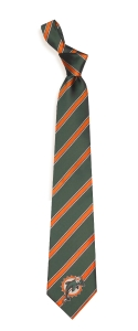 Miami Dolphins Woven Polyester Tie