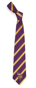 Minnesota Vikings Woven Polyester Tie