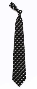 Philadelphia Eagles Pattern Polyester Tie
