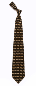 Pittsburgh Steelers Pattern Polyester Tie