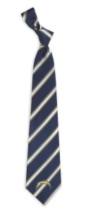 San Diego Chargers Woven Polyester Tie