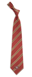 San Francisco 49ers Woven Polyester Tie