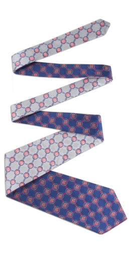 Chicago Cubs Home and Away Reversible Tie