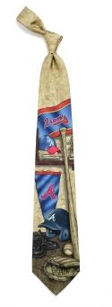 Atlanta Braves Nostalgia Tie