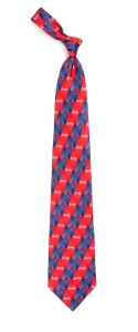 Atlanta Braves Pattern Tie