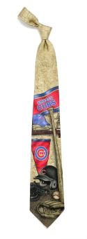 Chicago Cubs Nostalgia Tie