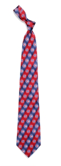 Chicago Cubs Pattern Tie