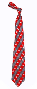 Cincinnati Reds Pattern Tie