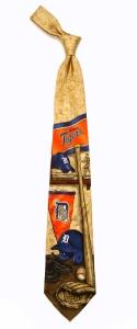 Detroit Tigers Nostalgia Tie
