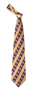 Milwaukee Brewers Pattern Tie